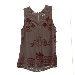 Meadow Rue sleeveless blouse